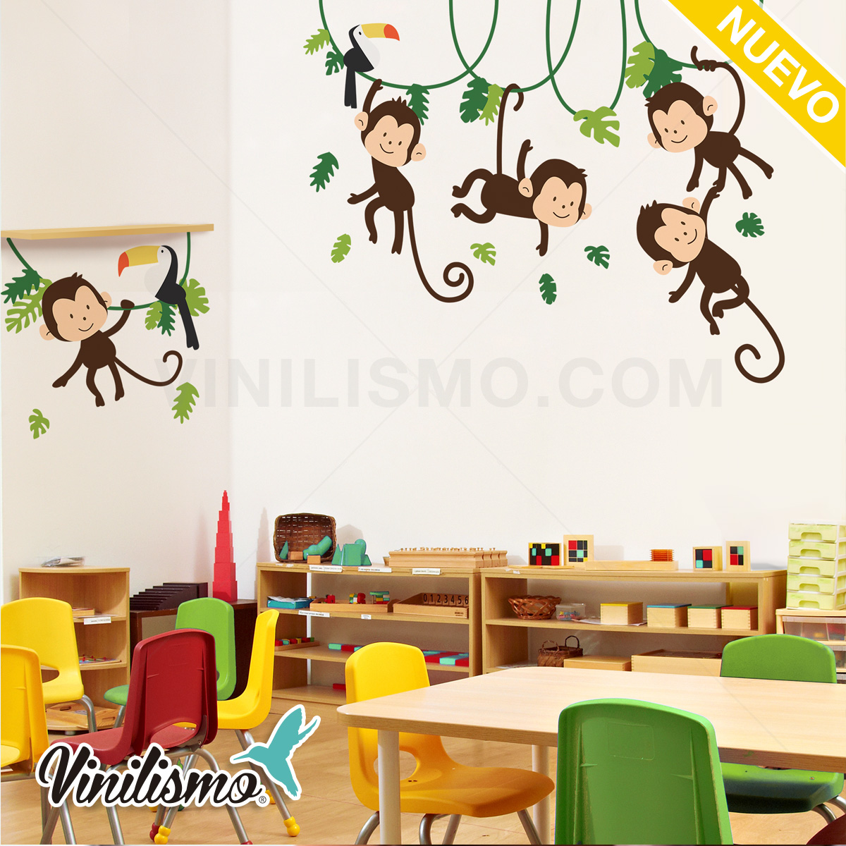 Decoracion Pared Infantil - Ideas De Disenos - Ciboney.net