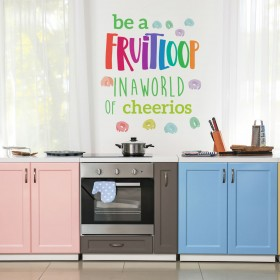 Vinilo Decorativo: BE A FRUITLOOP