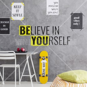 Vinilo Decorativo: BE YOU