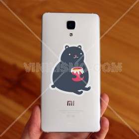 Vinilo decorativo para celular: Little bear