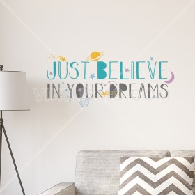 Vinilo Decorativo:  Dreams