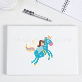 Vinilo decorativo para laptop: Princesa Durmiente