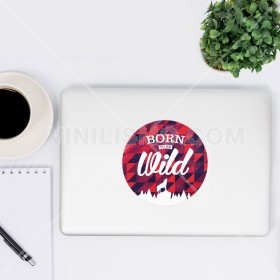 Vinilo decorativo para laptop: Born to be wild