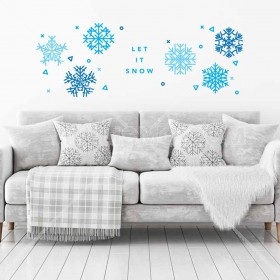 Vinilo Decorativo: Let it snow