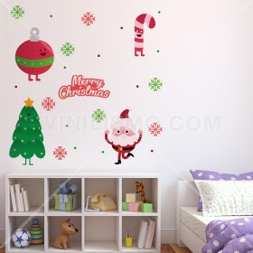Vinilo Decorativo: Felices fiestas
