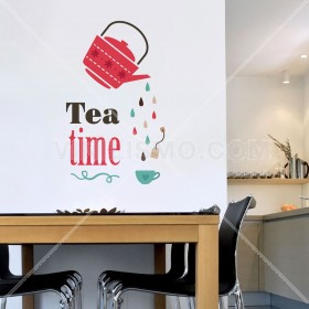 Vinilo Decorativo: Tea time