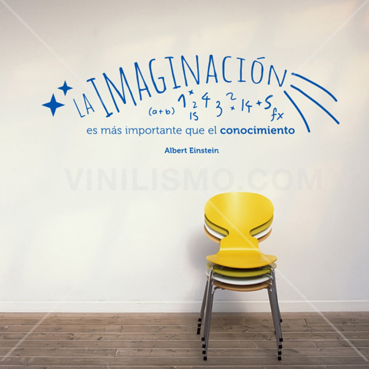Vinilo Decorativo: Imaginación