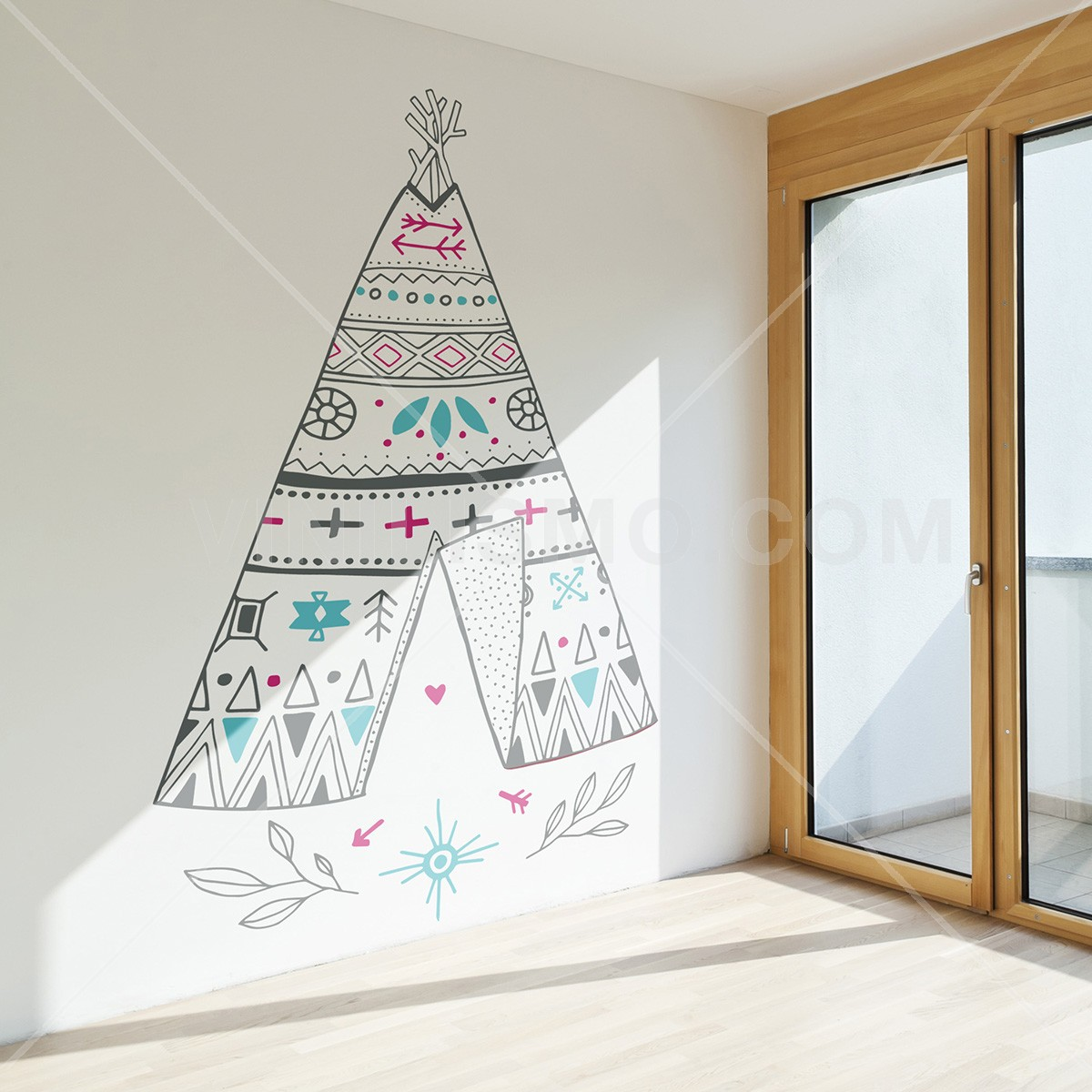Vinilo Decorativo: Tipi
