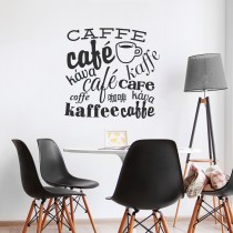 Wall Decal: Collage Café