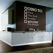 Wall Decal: Going To