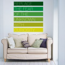 Wall Decal: Replace the Fear
