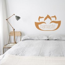 Wall Decal: Flor Namaste