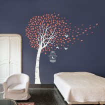 Wall Decal: Árbol brisa