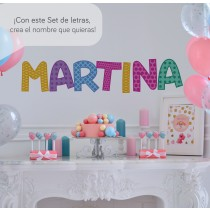 Vinilo Decorativo: Set Abecedario