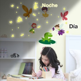 Featured products Vinilo Decorativo Fotoluminiscente: Haditas