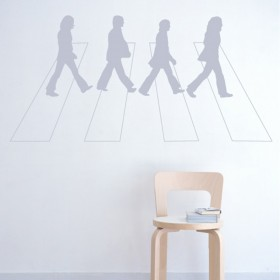 Wall Decal: Abbey Road