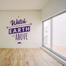 Wall Decal: The Earth From Above