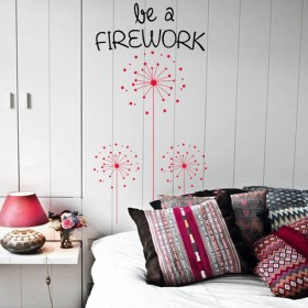 Wall Decal: Fireworks