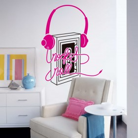 Wall Decal: Rock and Roll