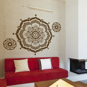 Featured products Wall Decal: Flor Mandala 3