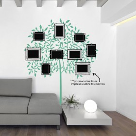Featured products Wall Decal: Árbol con Marcos