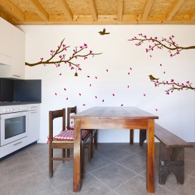 Wall Decal: Ventisca floral