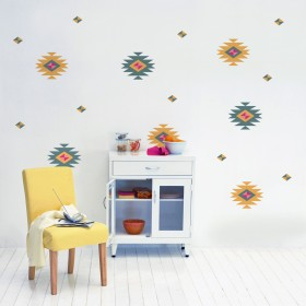 Wall Decal: Motivos Zapotecas