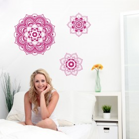 Wall Decal:  Flor Mandala 2