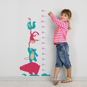 Wall Decal: Estatura Infantil 2