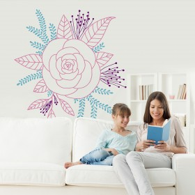 Wall Decal: Corsage