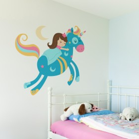 Wall Decal: Princesita durmiente