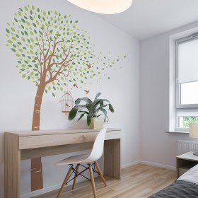 Wall Decal: Árbol brisa 3