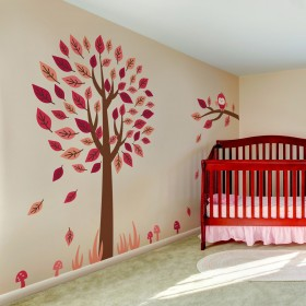 Wall Decal: Árbol Divertido 2