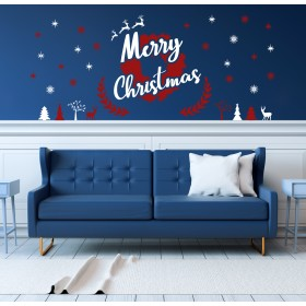 Vinilo Decorativo:  Merry Christmas