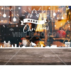 Vinilo Decorativo:  Christmas City