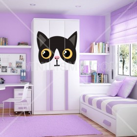 Wall Decal: Kitty Cat