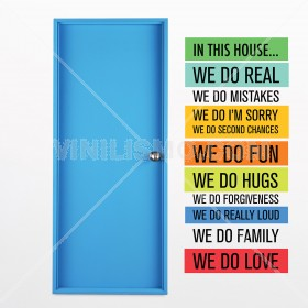Wall Decal: In this House