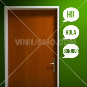 Wall Decal: Hola