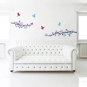 Wall Decal: Flores de Primavera
