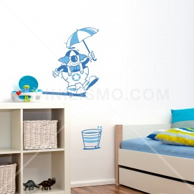 Wall Decal: Circus 4