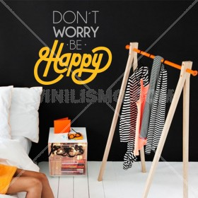 Wall Decal: Be Happy