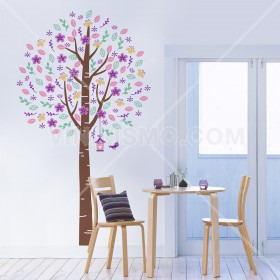 Wall Decal: Árbol florecer 3