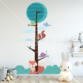 Vinilo Decorativo: ESTATURA BOSQUE