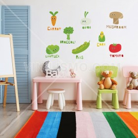 Vinilo Decorativo: VEGETABLES