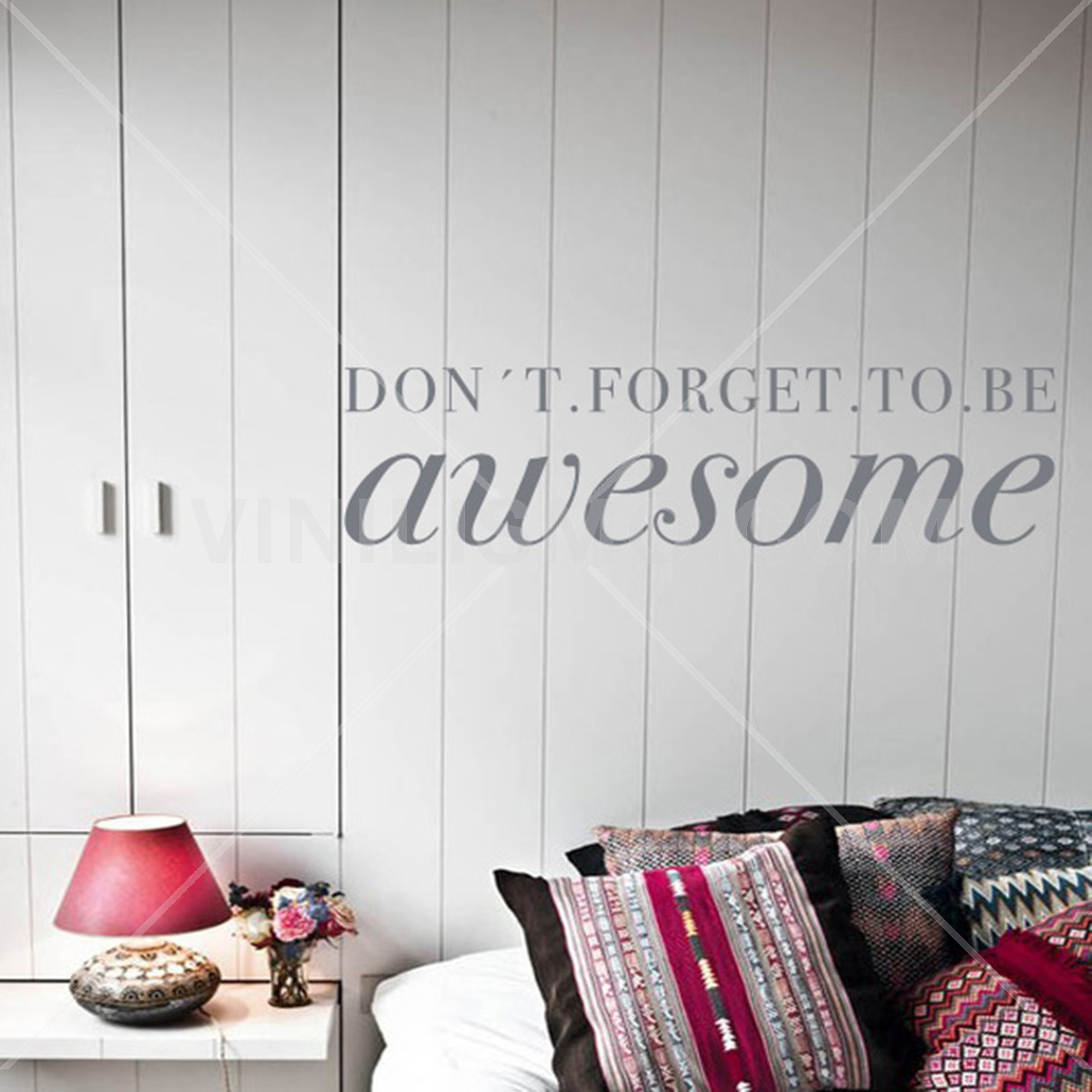 Vinilo Decorativo: Be Awesome
